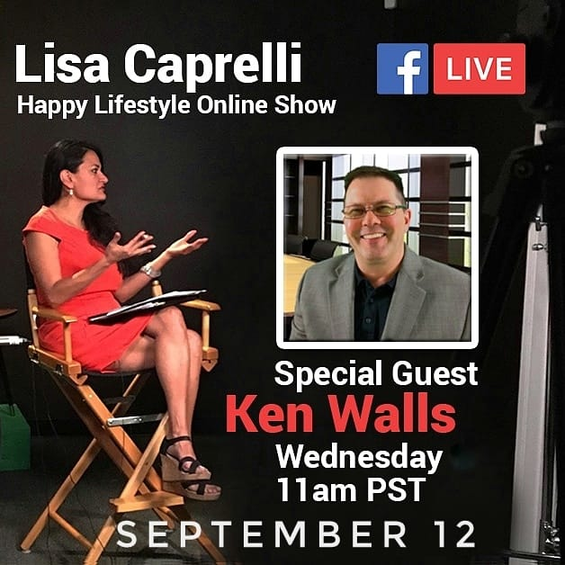 HAPPY LIFESTYLE ONLINE show Ken Walls and Lisa Caprelli